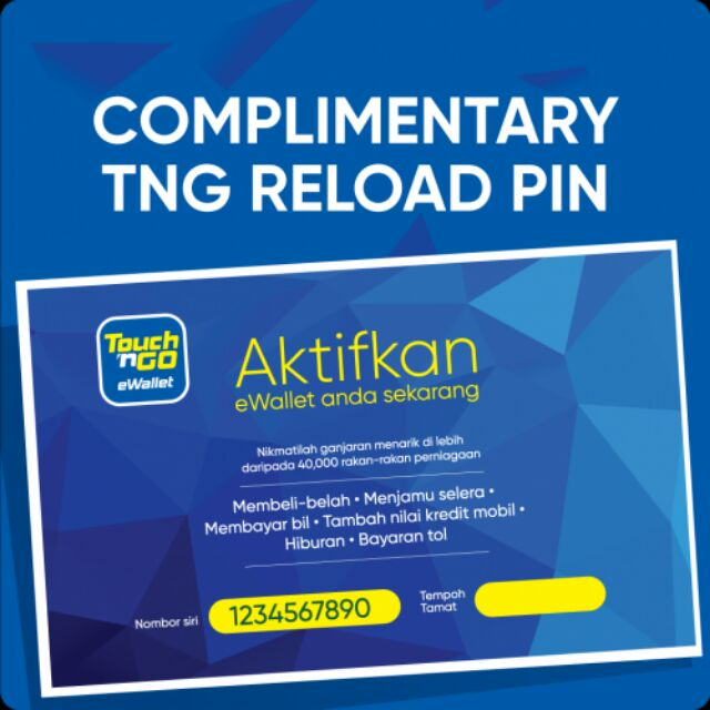 Donate 10 Only Free Touch N Go Ewallet Rm8 Reload Soft Pin Or Ask For Free Of Charge Shopee Malaysia
