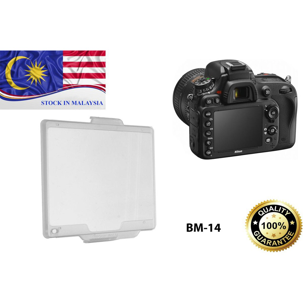 Snap On Monitor Cover Protector For Nikon D610 D600 BM-14 BM14 (Ready Stock In Malaysia)
