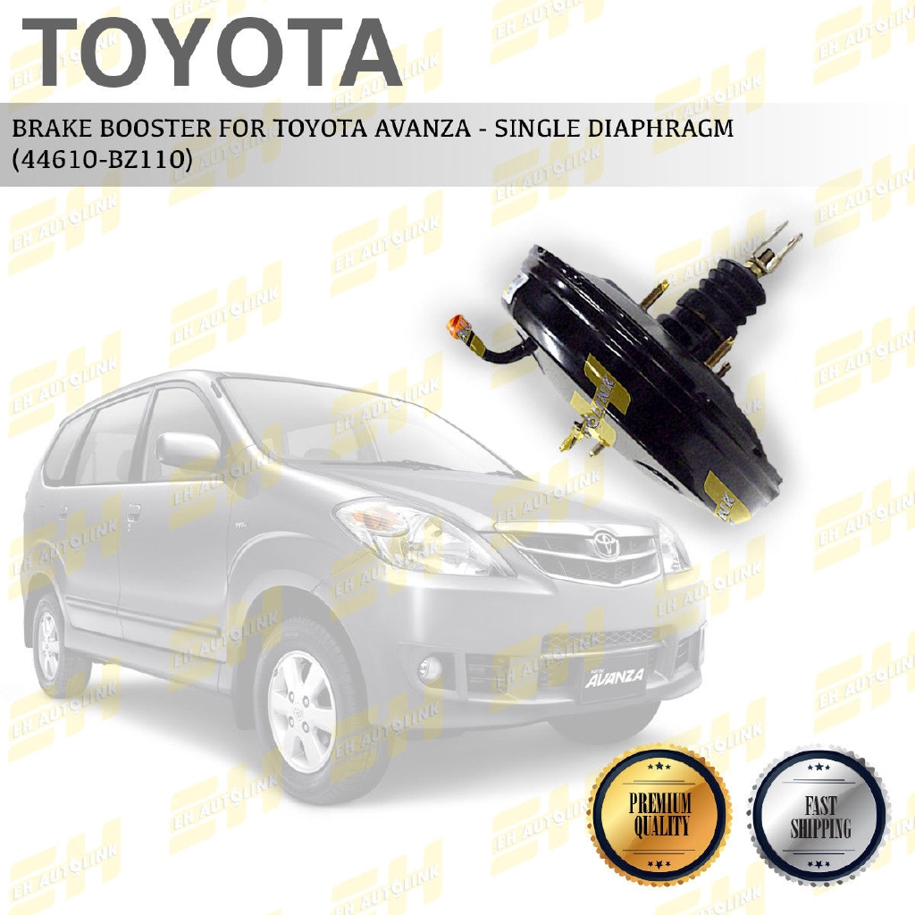 BRAKE BOOSTER - AVANZA TOYOTA (9' SINGLE)(LH) (44610-BZ040)