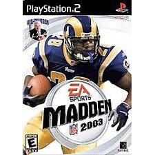 PS2  NFL 2003 [Burning Disk]