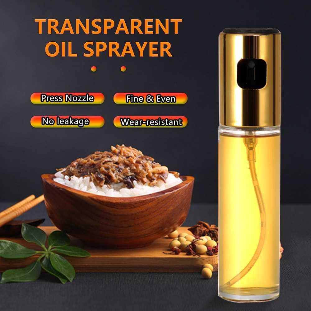 Olive Oil Sprayer Oil Versatile Glass Spray Olive Oil Bottle Vinegar Wine Bottle Glass Bottle for BBQ Cooking Baking Ro