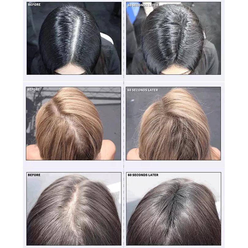 TRIPLE PROMO PACK ( 3 bottles ) Black Hair Fiber for Instant Hair Loss by toppik cabuki factory Serat Rambut Concealer