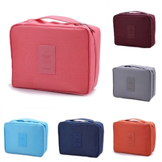 [Local Ready Stock] Travel Cosmetic Makeup Bag Organizer Pouch Beg Bags - B028