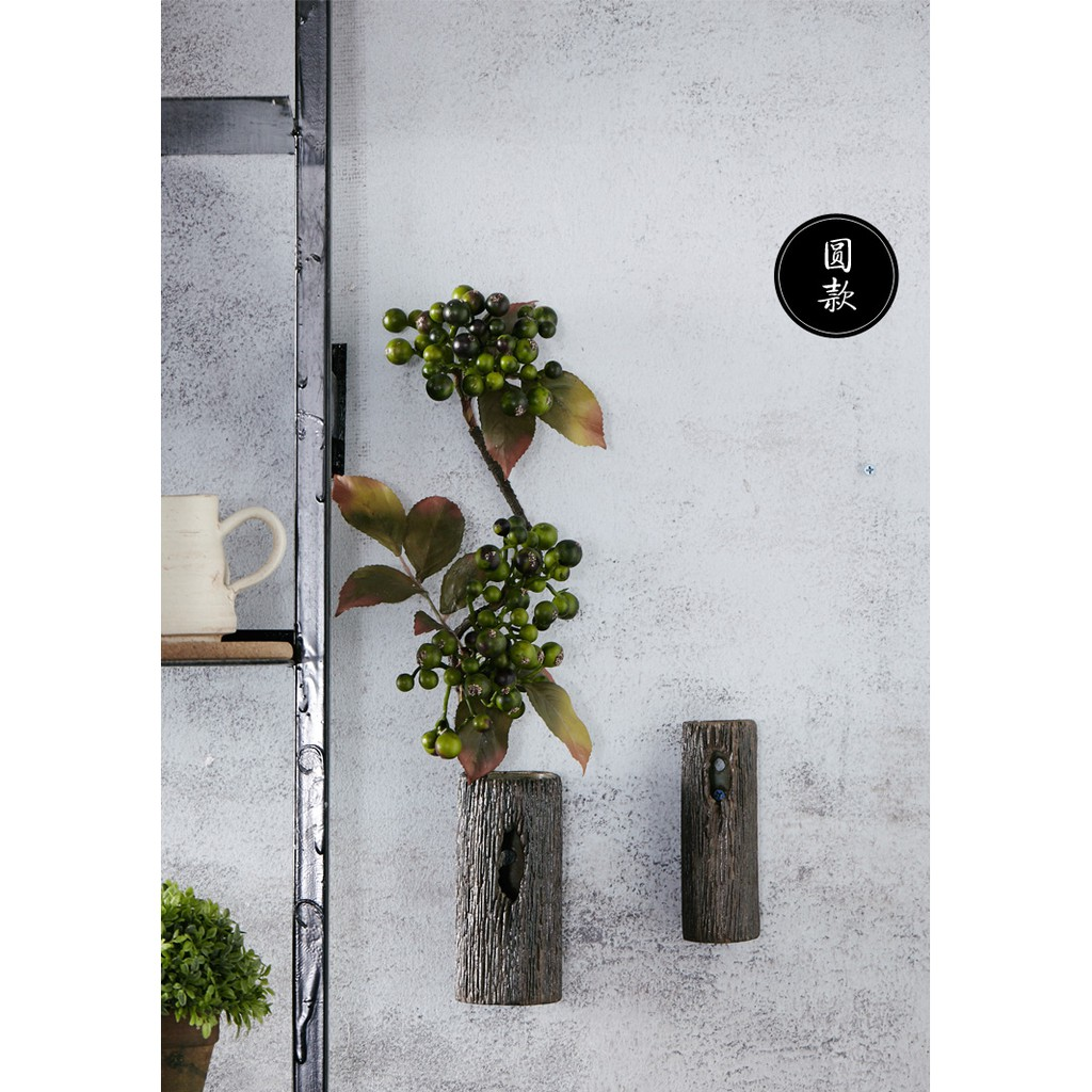 Imitation Wood Ceramic Wall Hanging Decoration Shopee Malaysia