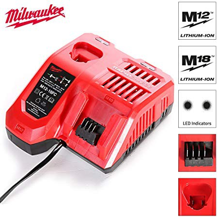 Milwaukee M12-18FC Rapid Fast Charger