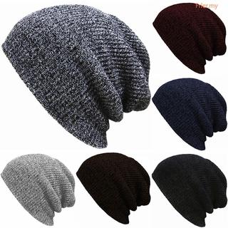 0c0b4818d FR◕◕ Men Knit Slouch Long Baggy Beanie Winter Warm Oversize Skull ...