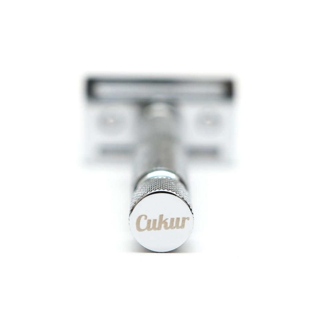 Cukur Double Edge Safety Razor - Short Handle + 5 Blades
