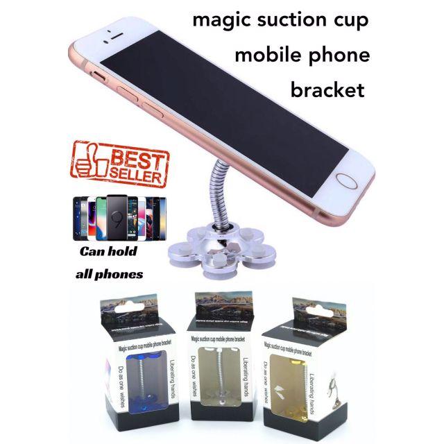 magic suction cup mobile phone bracket ที่ยึดโทรศัพท์จุกศูนย์ยากาศ 360