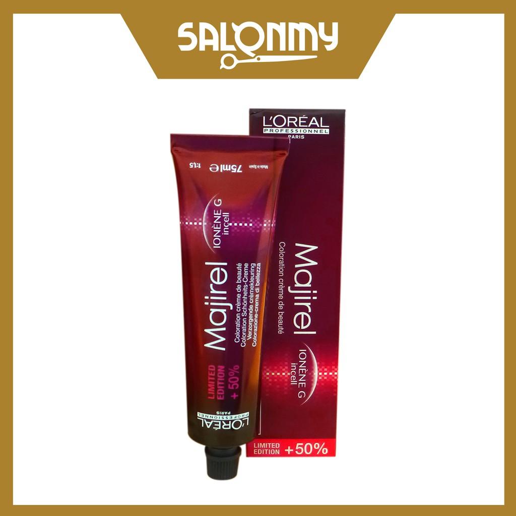 L\'oreal Majirel Hair Dye Color 50ml + 50% (Color Only)