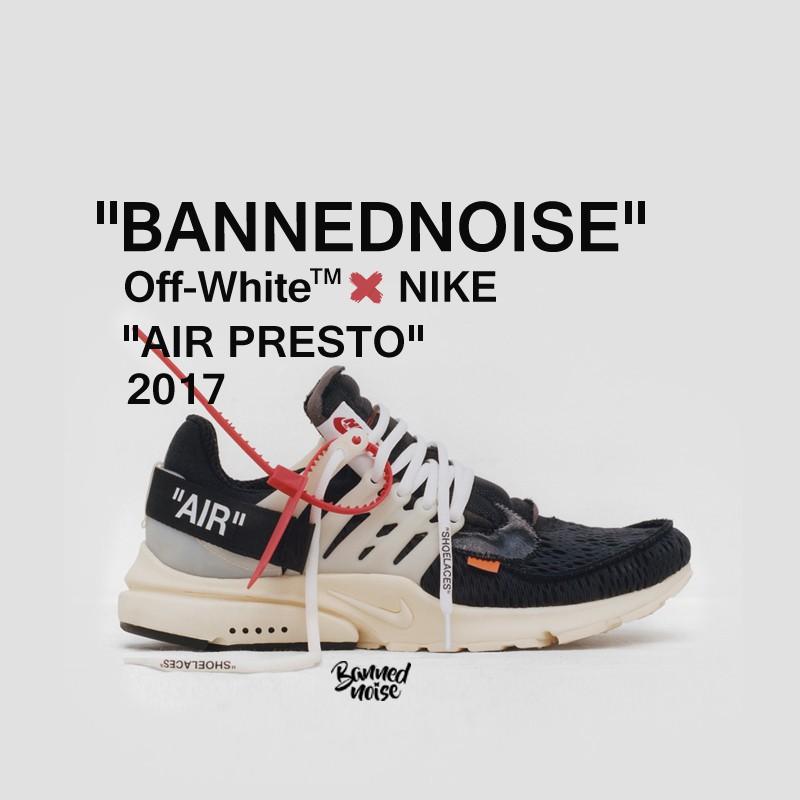 a14e209613e689  ready stock 100%original NIKE OFF WHITE AIR PRESTO THE TEN Socks running  shoes