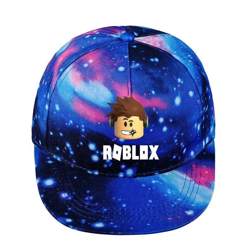 Roblox Leopard Hat Game Roblox Starry Sky Hat Baseball Men Women Hip Hop Trucker Snapback Cap Shopee Malaysia