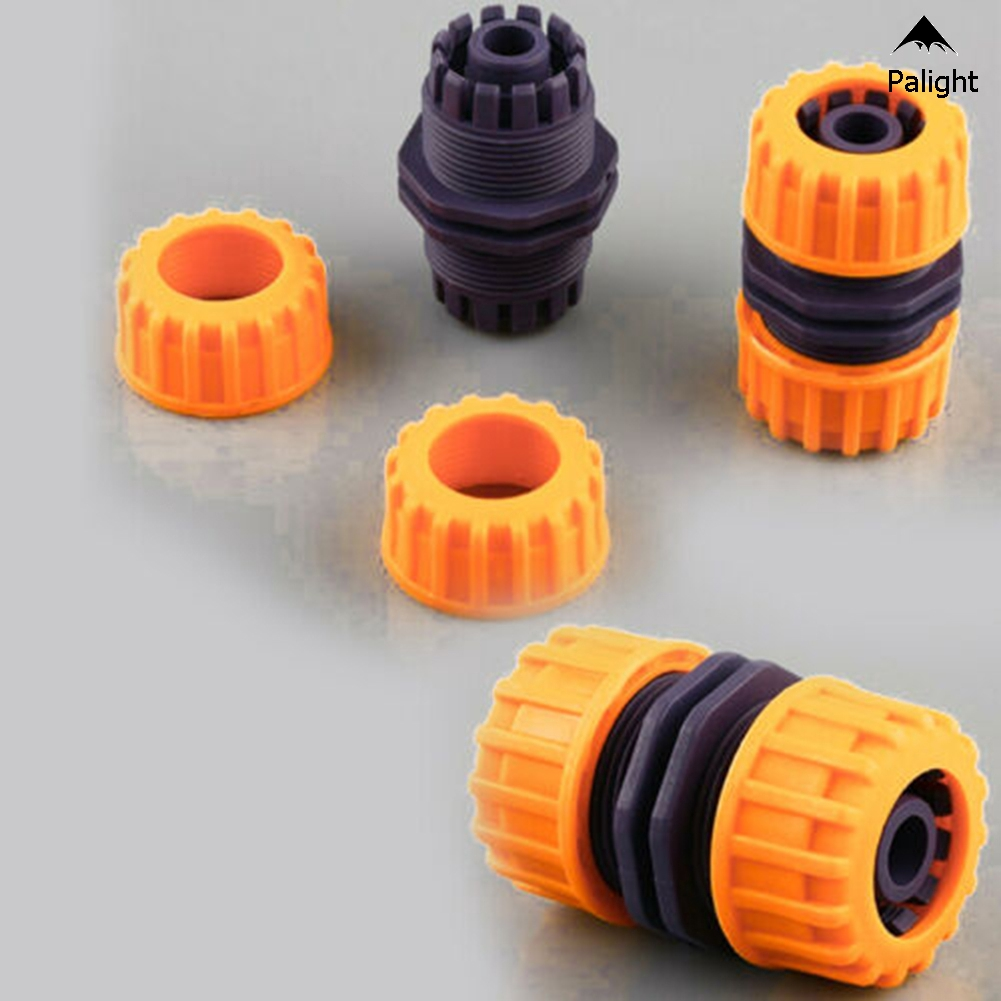 "5Pcs Hose Pipe Connector 1//2/"" Garden Joiner Mender Extend Repair Adaptor Coupler"