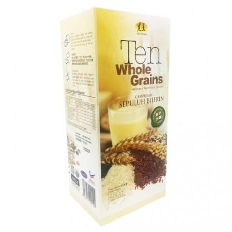 Hei Hwang Ten Whole Grains 450G (30G x 15 Sachets) 黑王十穀米