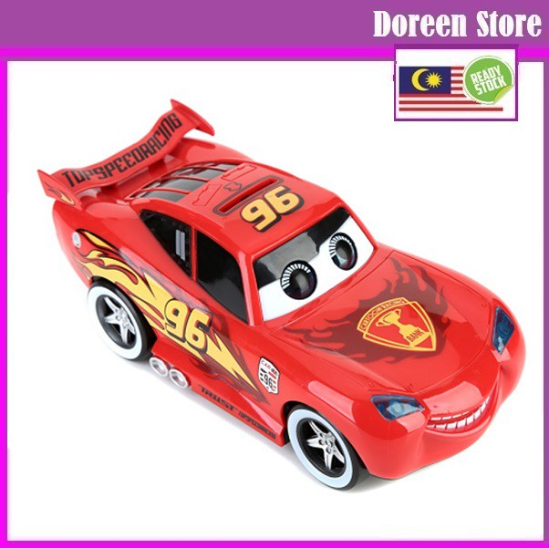 [End Stock Clearance] Cars Coin Bank Car Lightning McQueen