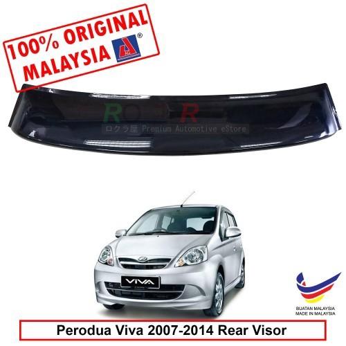 Perodua Viva 2007-2014 AG Rear Wing Spoiler Visor (Big 20cm)