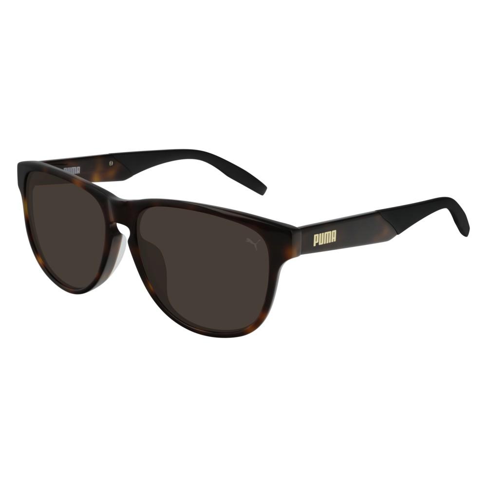 Puma Sunglasses - PU0229SA-002 - Havana & Brown