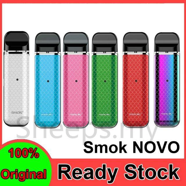 New SMOK Novo Kit SMOK Pod Fresh Vaping Cobra Covered Starter Stick Vape Pen