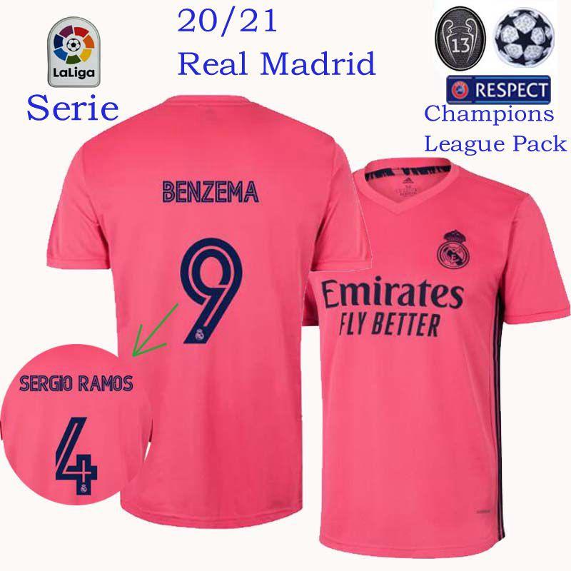 2020 2021 Real Madrid Away Jersey 20 21 Real Madrid Jersey Football Jersey Shopee Malaysia