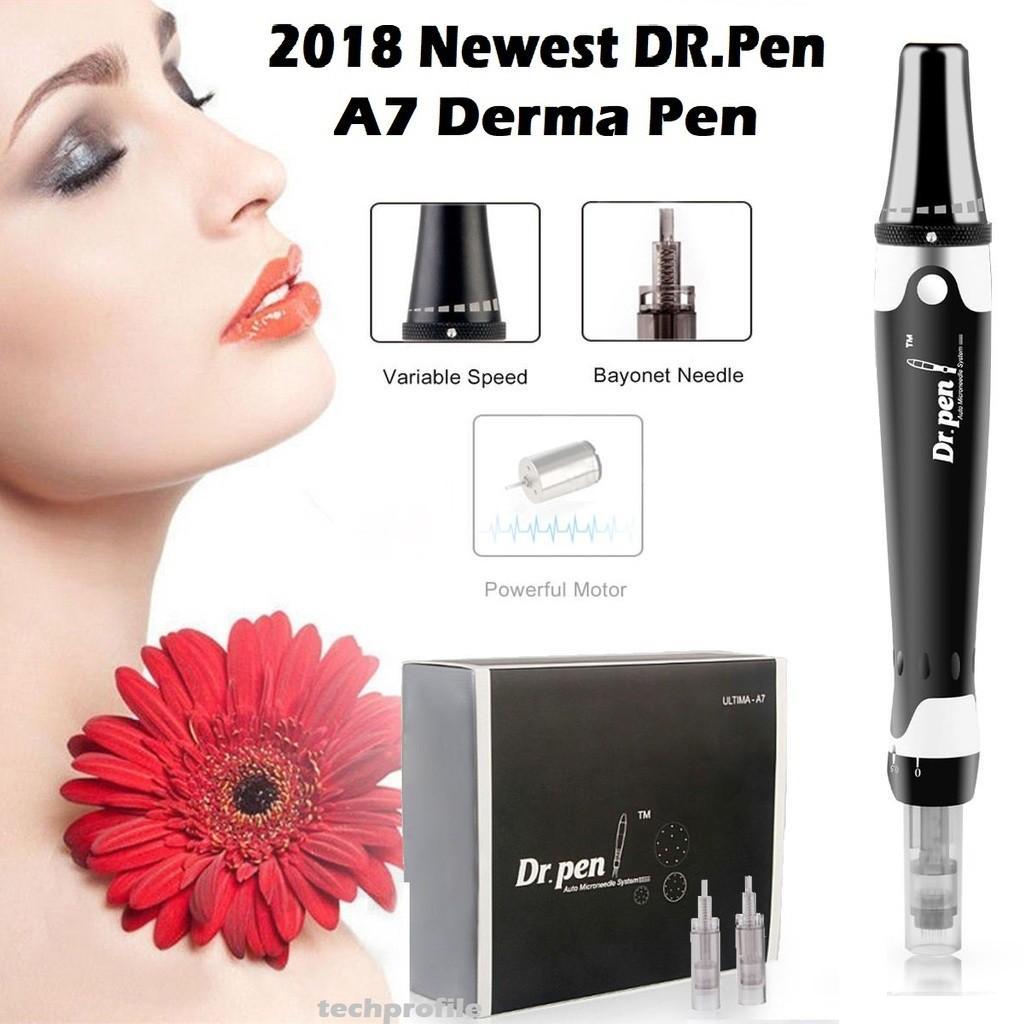 GENUINE Dr Pen ULTIMA A7 Electric Derma Pen Auto Micro Needle Anti-Aging