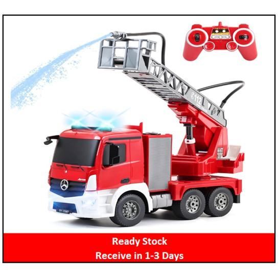 Double Eagle - 1/20 R/C Mercedes-Benz Antos Fire Truck