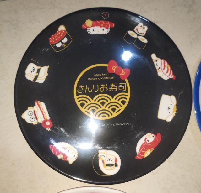 🔥🆕💯👍LIMITED EDITION 📌hello kitty dinnerware melamina plate 15m HELLO KITTY🍽🍽~black,blue ,red