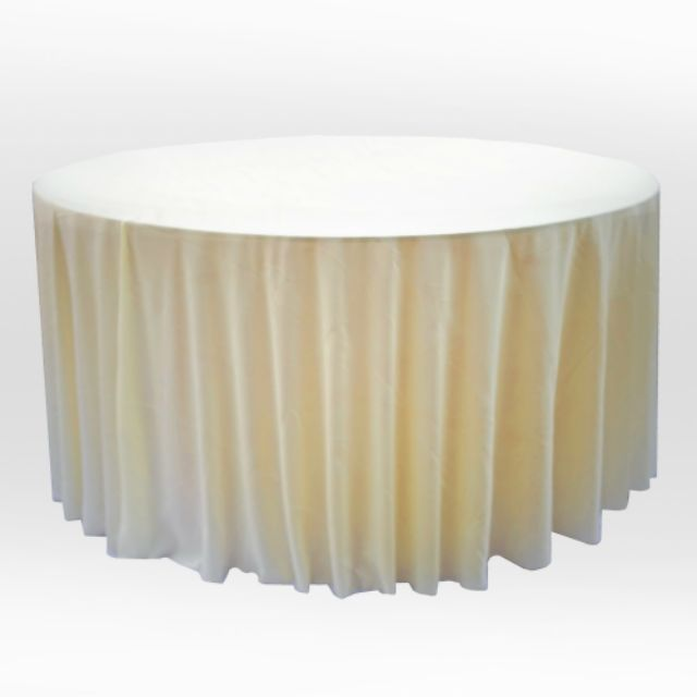Table Cloths Round Full Cover Jc 4f, Round Table Cloths