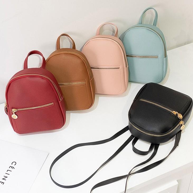Perempuan Backpack Female Bag Korea Style Mini Candy Colourful Backpack 少女迷你背包B00111