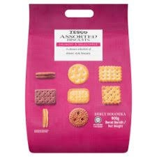 Tesco Assorted Biscuits 430g