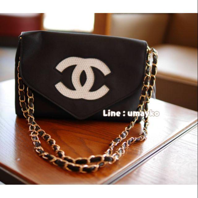 กระเป๋าสายโซ่ Chanel ❤️EMS.ฟรี พรีเมี่ยมกิ๊ฟท์ของแท้