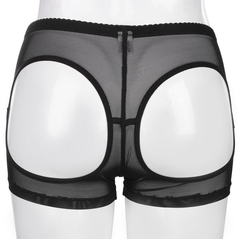 41cc8af4f3 Female Shapewear Butt-Lifting Mesh Underwear Sexy Body Sculpting Mesh Pants