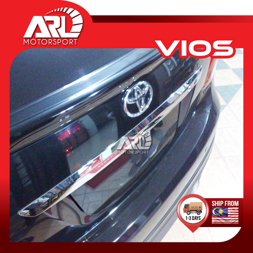 Toyota Vios (2007-2012) NCP93 Rear Bar Chrome - Replace Type Car Auto Acccessories ARL Motorsport