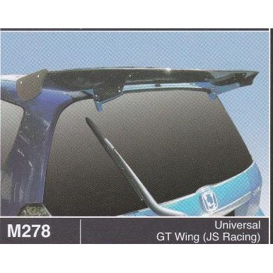 JS Racing UNIVERSAL GT Wing(Hatchback) | Sho Malaysia on