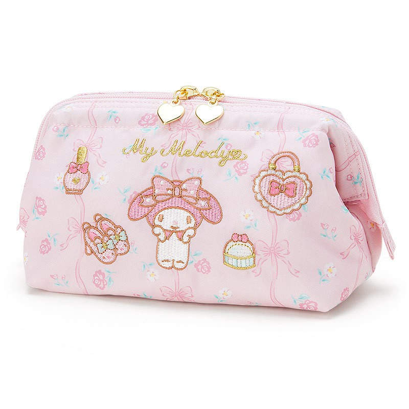 3fdf7859aee6 My Melody LITTLE TWIN STARS cosmetic bag makeap make up case bag wallet