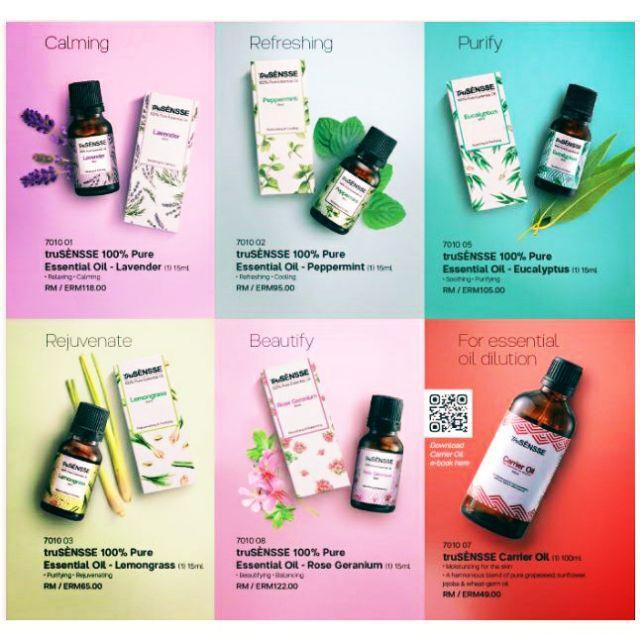 tru Sensse Essential oil (Tupperware Brands)