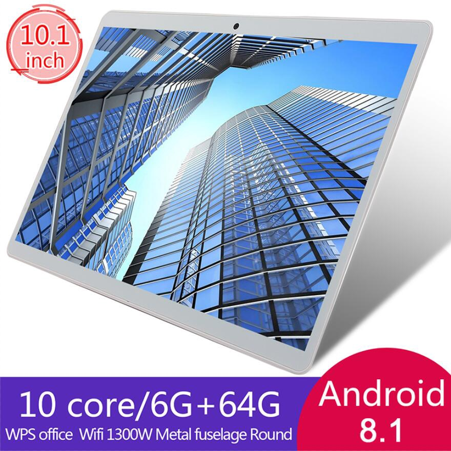 10 1 inch Tablet PC Android 8 1 System 6GB RAM 64GB ROM