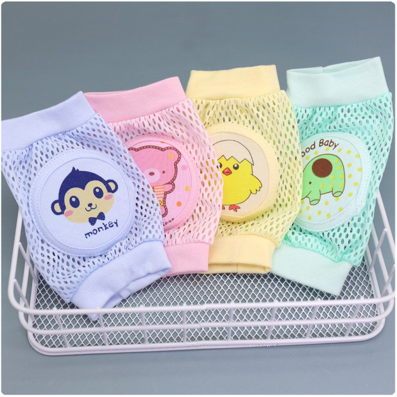 Children's Thickened Sponge Knee Pads, Baby Crawling Toddlers 儿童加厚海绵护膝 BB0008