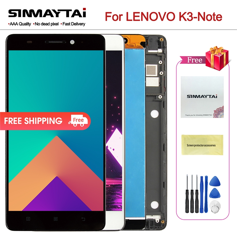 LCD LENOVO K3 Note Display K50-T5 Touch Screen Digitizer Assembly Lenovo K3  Note
