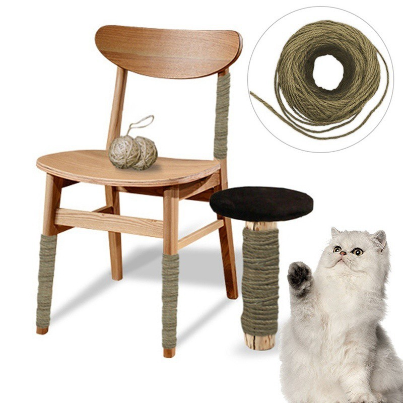 Awe Inspiring Memories888 50M Sisal Rope For Cats Scratching Post Toys Making Diy Desk Foot Stool Chair Le Alphanode Cool Chair Designs And Ideas Alphanodeonline