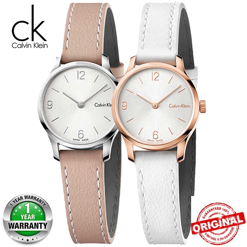 44a9aa85f2 CK women Calvin Klein women Stainless Steel and Leather watch K7V231Z6 31mm  25mm