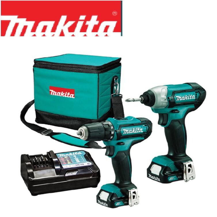 MAKITA CLX201 (TD110D+DF331D) Cordless Combo Set