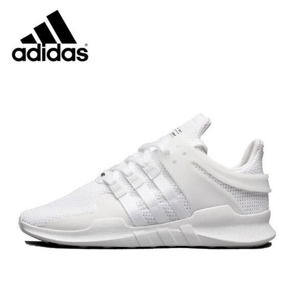 official photos 3b0a9 b1960 HN Original Adidas EQT Support ADV All White unisex running sports shoes  BA8322