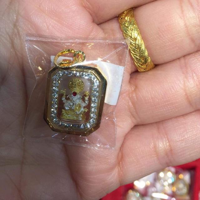 จี้พระพิฆเนศหุ้มทองคำแท้100% มีเก็บปล
