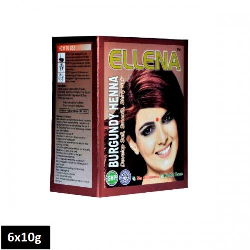 Ellena Burgundy Henna (6 sachets x 10g)