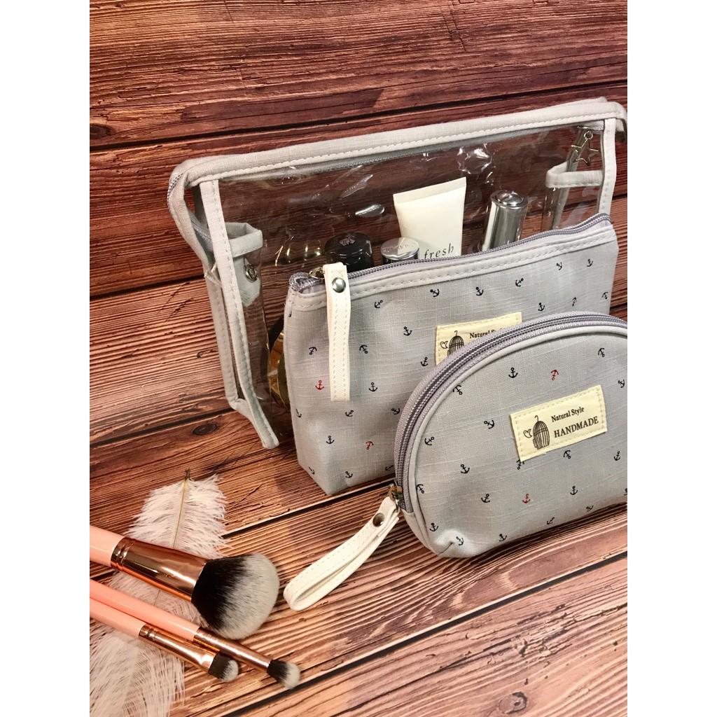 3a620a8e7d74 Botta Design Make Up Bag / 3 in 1 Make Up Pouch
