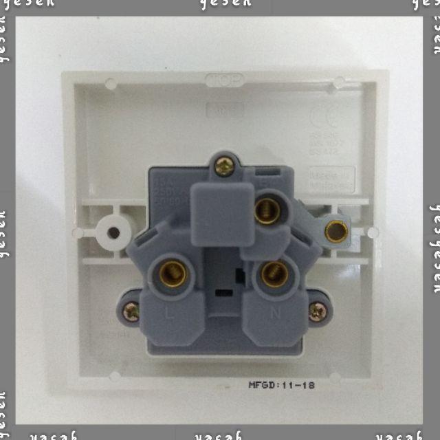 UMS 15A 1Gang Switch Socket Outlet