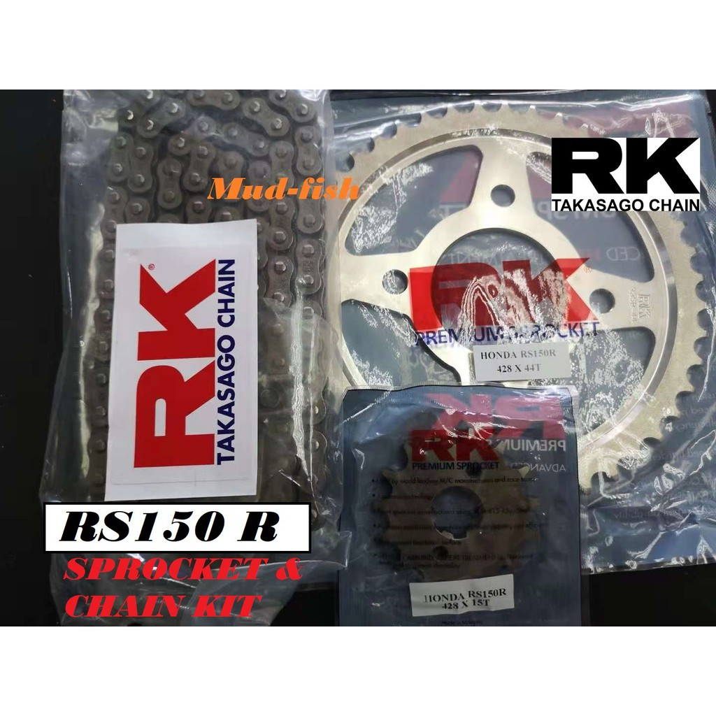 RANTAI RK HONDA RS150 R SPROCKET O'RING CHAIN KIT