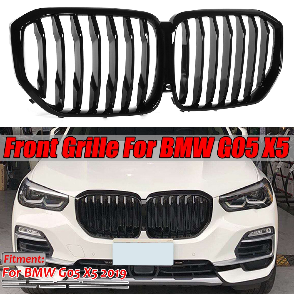 2019 2020 Performance Style Kidney Grille For Bmw X5 G05 M Color Glossy Black Front Hood Grill Insert Replacement Grilles