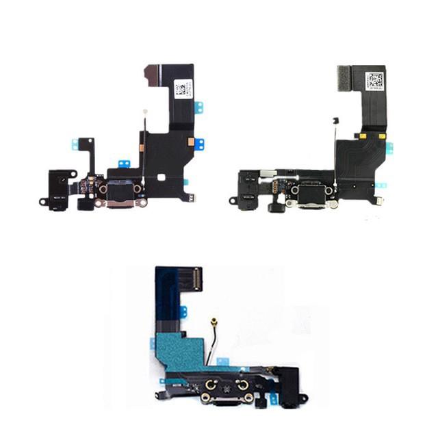 IPHONE 4 4S 5 5S SE 6 6S CHARGING PORT MICROPHONE HANDFREE USB PLUG FLEX  CABLE