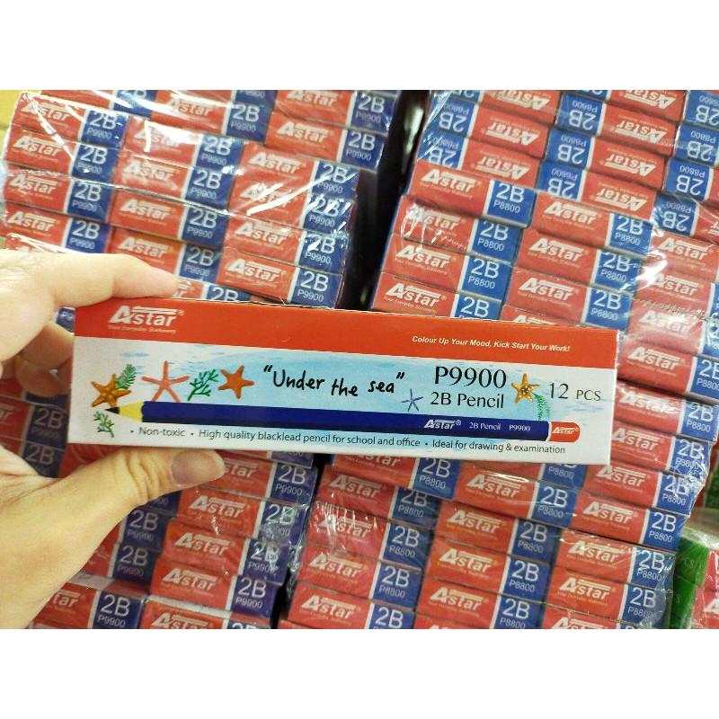 [ offer ] Astar P9900 2B Pencil 12pcs/box