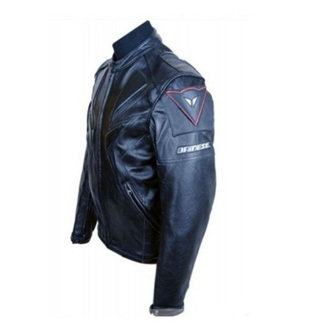 New Mens Leather Jacket Slim Fit Biker Motorcycle Genuine Leather Coat T517